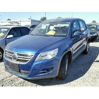 2009 VW Tiguan, blue