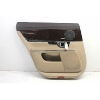 2014 Jaguar XJ Left Rear Door Panel