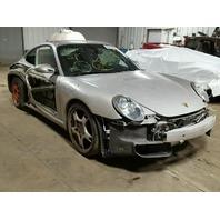 2007 Porsche 911 Carrera 2s, silver, hit rh side