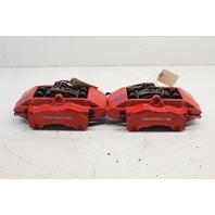 2007 Porsche 911 997 Front Brake Caliper Pair Set Red Brembo