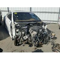 2010 Porsche Panamera Turbo white theft for parts