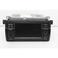 On Board Navigation Monitor Wide Screen 2002 Bmw 325Ci Convertible E46 2-Door 2.5 Gas 65526923869
