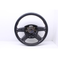 Steering Wheel Leather Black 2007 Audi Q7 Sport Utility Base 4.2 Gas 4F0419091AH