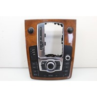 Radio Control Panel With Wood Grain Bezel 2007 Audi Q7 Sport Utility Base 4.2 Gas 4L0864261E
