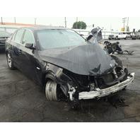2007 BMW 525i, black, hit front