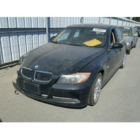 2007 BMW 335i, a/t, sdn, black, hit rh front