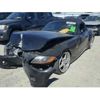 2004 BMW Z4, 2.5L, m/t, black, hit front