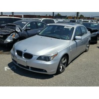2007 BMW 530i, Sdn, silver, minor dings