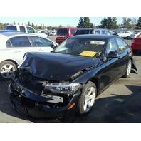 2014 BMW 328i, sdn,black, hit front & rear