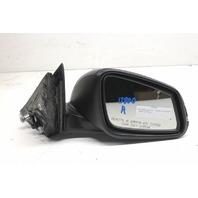 2014 BMW 328i F30 Sedan Right Passenger Side View Door Mirror Black 51167345674