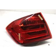 2014 BMW 328i F30 Sedan 2.0 Turbo Left Tail Lamp Assembly 63217372785