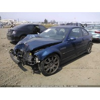 2003 BMW M3, Cpe, 3.2L,SMG,blue, hit frnt