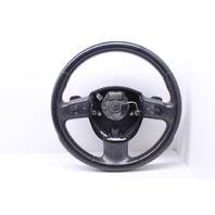 Sport Black Leather Steering Wheel 2007 Audi A4 Quattro Convertible Cabriolet 3.2 Gas 8P0419091CN