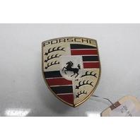 2009 Porsche Cayenne S Front Bumper Emblem Badge Crest 7L5853611C