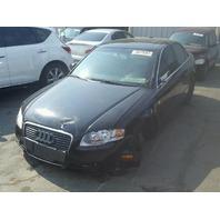 2006 Audi A4, Sdn, 2.0L,m/t, black, hit front