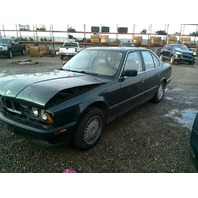 1994 BMW 525i, Sdn, 2.5L,a/t, Green, hit front