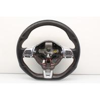 2011 Volkswagen Golf GTI Leather Steering Wheel W/O Paddles M/T 5K0419091
