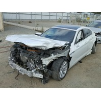 2013 BMW 640i, 3.0L, a/t,4dr, White, hit front