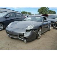 2006 Porsche Cayman S, 3.4L, Grey, hit Rh side