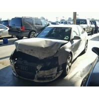 2008 Audi A4, 3.2L,a/t,Sdn, white, hit front