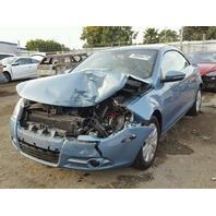 2010 VW EOS, 2.0L,a/t,2dr, blue, hit front