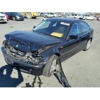 2004 BMW 325i, 2.5L,a/t,Sdn,black, hit frnt