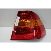 2004 Bmw 325i Sedan E46 4-Door 2.5 Gas Passenger Right Tail Light Lamp 6946534