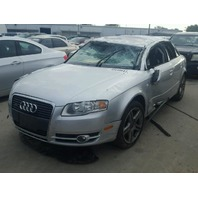 2007 Audi A4,2.0L,Awd,4dr,Sdn, Silver, rolled