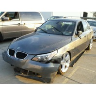2004 BMW 530i,E60, 3.0L,a/t,Sdn,Grey, hit rh front