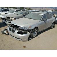 2007 BMW 530i, E60, 3.0L,a/t,Sdn,silver, hit all over