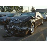 2013 BMW 750Li, F02, 4.4L,a/t,Sdn, Black, hit front