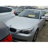2008 BMW 535i, E60, 3.0L, a/t, Sdn, Silver, hit rear