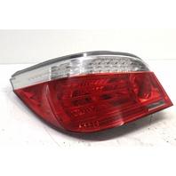 2008 BMW 535i Sedan E60 Left Driver Tail Lamp Assembly 63217180515