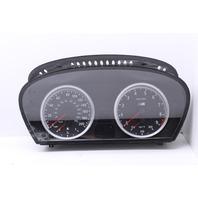 Speedo Speedometer Instrument Cluster 2007 Bmw M6 Coupe E63 2-Door 5.0L V10 Gas 62117839299