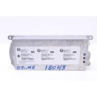 Bluetooth Telematics Control Module 2007 Bmw M6 Coupe E63 2-Door 5.0L V10 Gas 84109126534