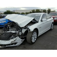 2012 BMW 528i,F10, 2.0L,a/t, Sdn,white, hit front