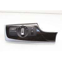 Headlight Headlamp Switch 2012 BMW 528i Sedan F10 4-Door 2.0