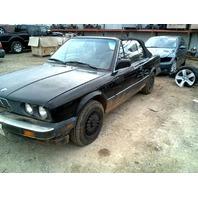 1990 BMW 325i, E30,2.5L, m/t,convertible, black