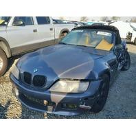 2001 BMW Z3, E36, 2.5L,m/t, Convrt,grey, hit lh side