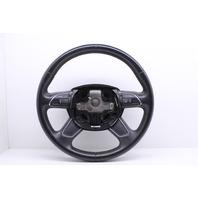 2013 Audi A4 Quattro Sedan Premium Plus 2.0t Gas Multifunction Steering Wheel