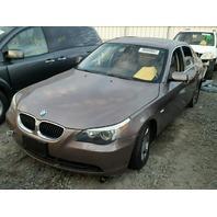 2004 BMW 525i, E60,2.5L, at,Sdn, brown