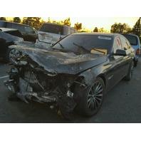 2011 BMW 740i F01 3.0L a/t,  charcoal, hit front