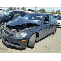 2008 BMW M3 E90 4.0L Sdn Black hit front