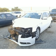 2011 Audi A4 2.0L at Fwd Sdn White hit front rear