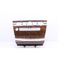 2010 Bmw 650i Convertible E64 4.8 Center Dashboard Wood Trim Panel 51455285061