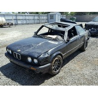 1991 BMW 325i E30  2.5L 2dr Black Rolled