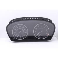 Speedometer Speedo Instrument Cluster 2008 Bmw 535i Sedan E60 4-Door 3.0 Gas Turbo 62109194887