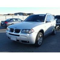 2006 BMW X3 E83 3.0L A/T, AWD, Silver , hit lh qtr