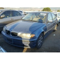 2004 BMW 325i, E46, 2.5L, a/t, Sdn, blue, hit rear