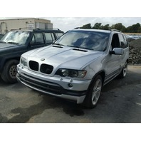 2003 BMW X5 E53, 4.6L, a/t, awd, Silver, hit lh qtr/suspension